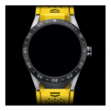 Tag Heuer Connected Yellow Strap Watch. SAR8A80.FT6060