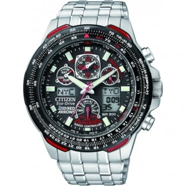 Citizen Mens Red Arrows Skyhawk Watch JY0100-59E