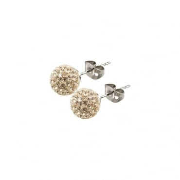 Tresor Paris Cramenil Gold Crystal Earring - 016426