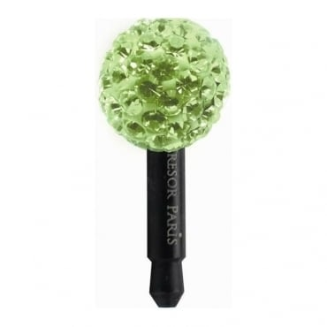 Tresor Paris Green Crystal Smart Phone Charm - 018516