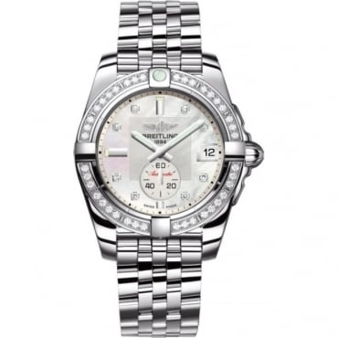 Breitling Ladies Galactic 36 Diamondworks Watch A3733053/A717