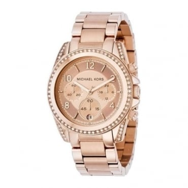 Ladies Rose Gold Blair Watch MK5263