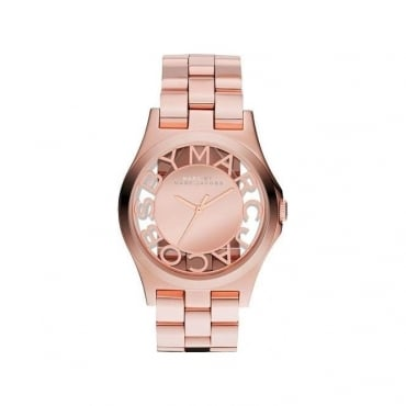 Marc By Marc Jacobs Ladies Henry Skeleton Watch MBM3207
