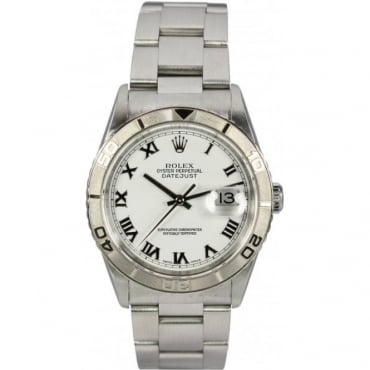 Pre-Owned Rolex Mens Turn-O-Graph in Steel 16264