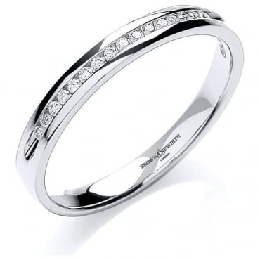Brown & Newirth Catalogue Ladies 18ct White Gold Diamond Ring
