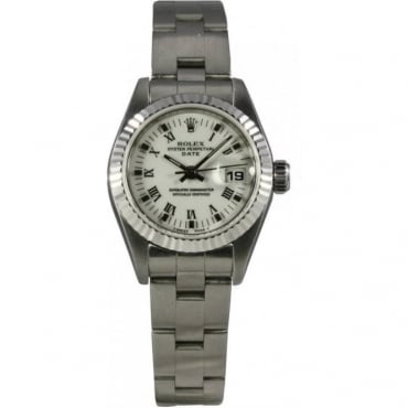 Pre-Owned Rolex Ladies Oyster Perpetual Date Watch. 69240