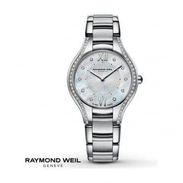 Raymond Weil Ladies Noemia Diamond Watch 5132-STS-00985
