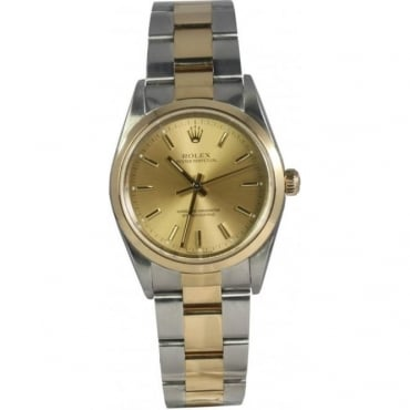 Pre-Owned Rolex Men's Bi Metal Oyster Perpetual Watch. 14203