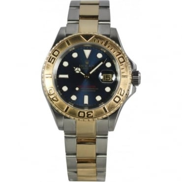 Pre-Owned Rolex Mens Bi-Metal Yachtmaster 16623