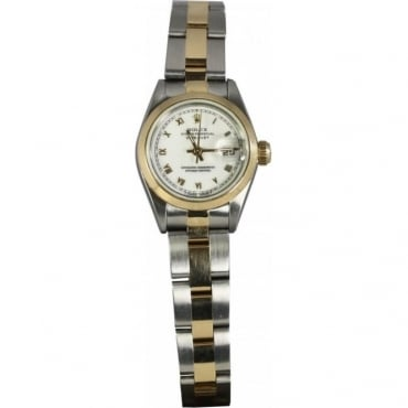 Pre-Owned Rolex Ladies Bi-Metal Datejust Watch - 69163