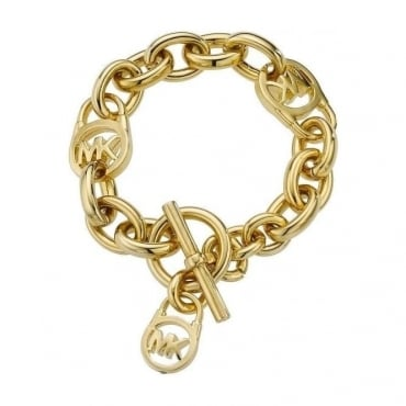 Michael Kors Jewellery Gold Plated Link Bracelet