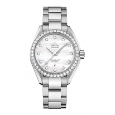 Omega Ladies Seamaster Aqua Terra 150m Co-Axial 34mm - 231.15.34.20.55.002