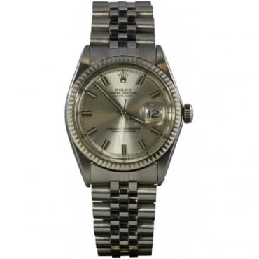 Mens Datejust Stainless Steel