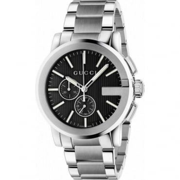 Mens G-Chrono Bracelet Watch YA101204