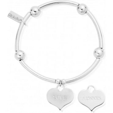 ChloBo Jewellery Noodle Ball Love Always Bracelet - SBNB209