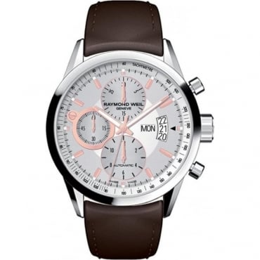 Raymond Weil Mens 'Freelancer' Watch 7730-STC-65025