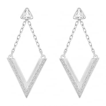 Swarovski Ladies Delta Pierced Earrings 5156602