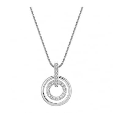 Swarovski Ladies Circle Pendant 681251
