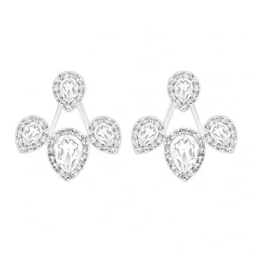 Swarovski Ladies Christie Pierced Earring Jackets 5123883