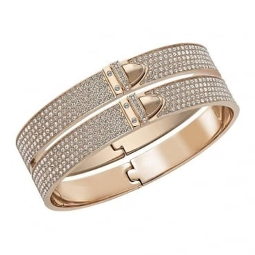 Swarovski Ladies Distinct Wide Bangle, M. 5160573