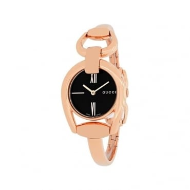 Gucci Ladies Horsebit Watch - YA139507