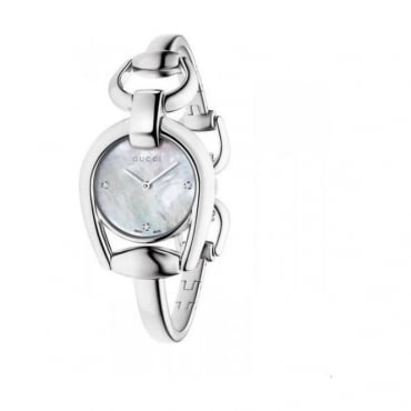 Ladies Horsebit Diamond Watch - YA139506