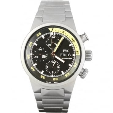 Pre-Owned IWC Men's Aquatimer Day Date