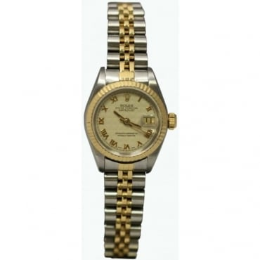 Pre-Owned Rolex Ladies Bi-Metal Oyster Perpetual Datejust