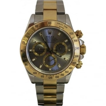 Pre-Owned Rolex Men's Bi Metal Cosmograph Daytona