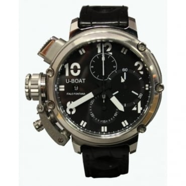 Pre-Owned U-Boat Men's Stainless Steel Chimera 46 Watch
