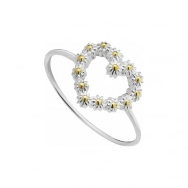 Daisy London Iota Heart Ring - SR614