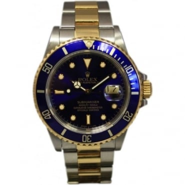 Pre-Owned Rolex Men's Bi-Metal Submariner Watch
