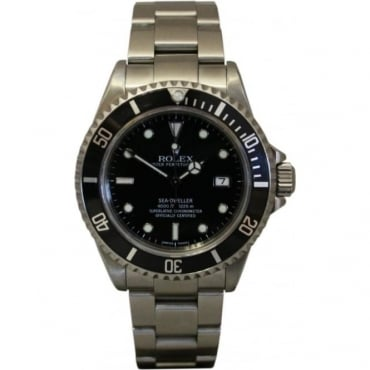 Pre-Owned Rolex Men's Stainless Steel Sea-Dweller