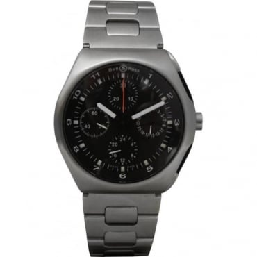 Pre Owned Bell & Ross  Men's Space 3 GMT Watch.