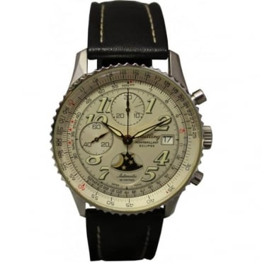 Pre-Owned Breitling Mens Montbrillant Eclipse.