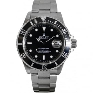 Pre-Owned Rolex Men's Stainless Steel Submariner