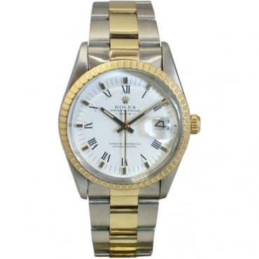 Pre-Owned Rolex Men's Bi-Metal Oyster Perpetual Date