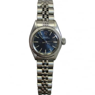 Pre-Owned Rolex Ladies Stainless Steel Oyster Perpetual