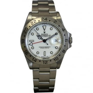Pre-Owned Rolex Men's Stainless Steel Explorer II