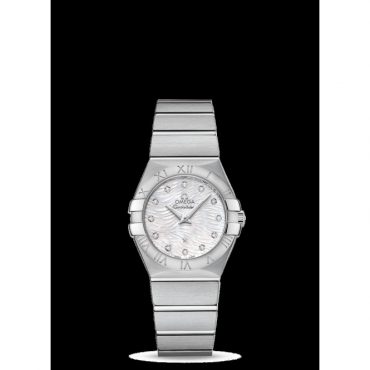 Omega Ladies Stainless Steel Constellation Quartz 27mm
