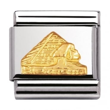 Nomination Classic Gold Pyramid Charm - 03012305