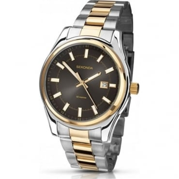 Sekonda Gents Two Tone Watch 3501