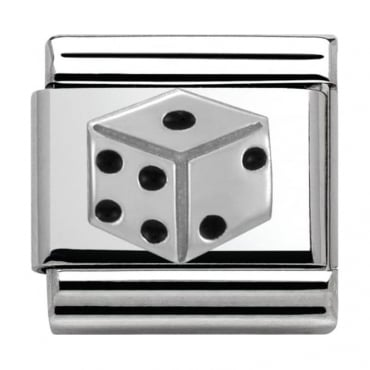 Nomination Classic Silver Daily Life Dice