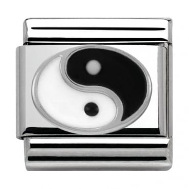 Nomination Classic Silver Daily Life Ying Yang