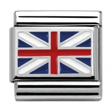 Nomination Classic Silver Daily Life Union Jack