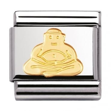Nomination Classic Gold Buddha Charm