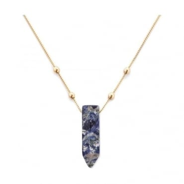 Alex And Ani Sodalite Pendant Necklace