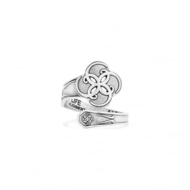 Breath of Life Spoon Ring
