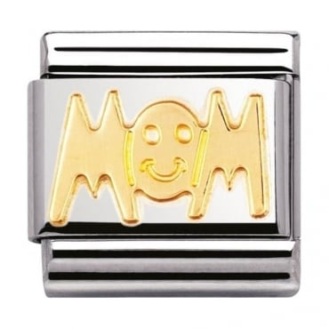 Nomination Classic Gold Mom Charm