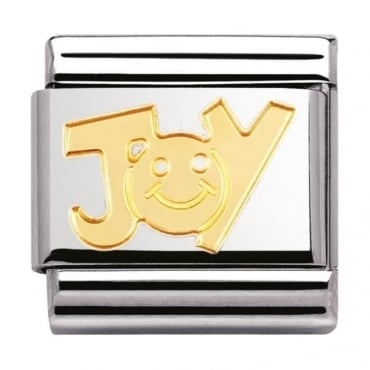 Nomination Classic Gold Joy Charm
